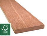 Cumaru, FSC 100%, Terrassendielen, 21x145x3050 mm, KD, glatt/glatt