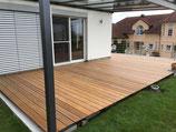 Ipé, Terrassendielen, 21x145x2740 mm, KD, glatt/glatt