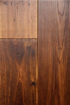 Thermo Eiche Massivholzdiele, farblos geölt, 16x85/105/125/145 mm