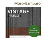 Terrassenöl, Moso Bambus, vintage, 3 Liter, PET-Kanister
