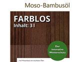 Terrassenöl, Moso Bambus, farblos, 3 Liter, PET-Kanister