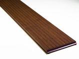 """Moso Bambus, Terrassendielen, 20x137x1850 mm, fein/glatt, """"coffee"""" vorgeölt, seitlich genutet, 5.55 Laufmeter pro Packung"""