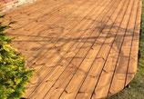 Thermo Kiefer, Terrassendielen, 26x137x4200 mm, glatt/glatt, seitlich genutet
