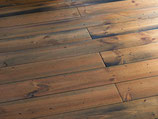 Seekiefer Massivholzdielen, Natur, sepia naturgeölt, gealtert, 21x176x2000 mm, 1.41 m2 pro Packung