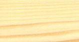 Sockelleiste, Fichte, massiv, unbehandelt, abgerundet, 40x11 mm