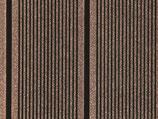 WPC Terrassendiele, beidseitig gebürstet, Braun, grob/fein, Vollprofil, 25x138x4000 mm