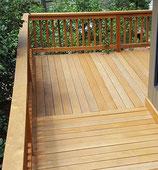 Greenheart, FSC 100 %, Terrassendielen, 21x140x3050 mm, KD, glatt/glatt