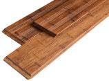 """Bambus, Terrassendielen XL, """"Supreme"""", 20x200x2400 mm, glatt/französisch, Coffee vorgeölt, seitlich genutet, 7.2 Laufmeter pro Packung"""