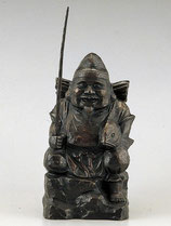 34-52・53 木彫風恵比寿(般若純一郎)