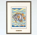 145-54 縞鯛(池田満寿夫)