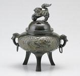 168-65 竜文釻付香炉