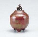 136-55 夏目形香炉(能作吉秀)