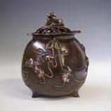 129-04 福鼠 宝袋香炉