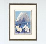 143-06 白富士にバラ 小