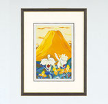 148-57 黄富士にカトレヤ 小