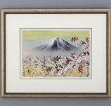 144-05 黎明・桜 (北光修 作)