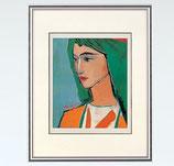 144-53 緑の髪の女(池田満寿夫)