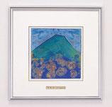 開運風水 五彩の富士山(大)