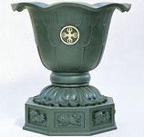64-72  蓮型八画天水鉢 一対