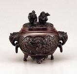 133-56   小判型七福神 小 恵比寿大黒蓋香炉