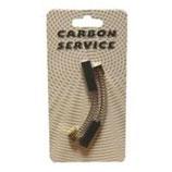 G022B-COPPIA CARBONCINI 5x6x15/18,5 CON MOLLE