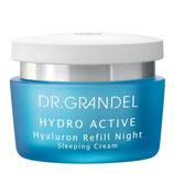 DR. GRANDEL HYDRO ACTIVE Hyaluron Refill Night-  Hyaluron Nachtcreme (50ml)