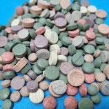 Futter-Tabletten-Mix 50g