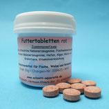 Futter-Tabletten rot 50g