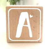 """Holzwürfel """"Buchstaben"""""""