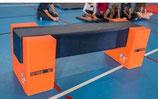 Poutre mousse carrée de gymnastique