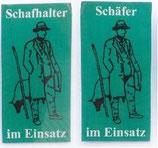 PVC-Aufkleber Schafhalter / Schäfer