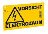 Warnschild  aus PVC