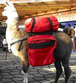Lama-Packsattel mit 2 Taschen