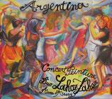 CD «Argentina» et «Camino al cielo » design pochette de Anne d'Aressy