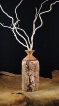 Vase aus uraltem Zaunpfahl 9
