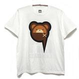 【NUMBER 3】クマパジャマTシャツ-WHITE-