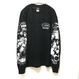 【messa store×Cyberia Layer_2】CYBERIAロングスリーブTシャツ