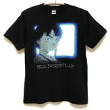 【NUMBER 3】ASCII MONITOR Tシャツ-BLACK-