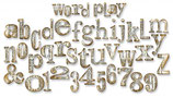 Sizzix Bigz XL Alphabet Die - Word Play 657837