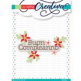 coppia creativa RU382 - Buon Compleanno con i fiori