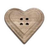 bottone a cuore cm 22