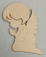Angioletto Piccolo Bimbo in legno 6 x 5  cm