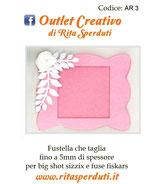 Fustella Outlet Creativo AR3