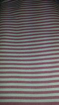 Cotone Panama 100x90 (Righe Rosso)