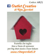 Fustella Outlet Creativo AR21