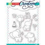 timbro coppia creativa TU 247 Elefanti