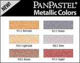 Pan Pastel Metallic colors