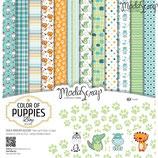 ModaScrap Color of puppies boy