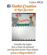 Fustella Outlet Creativo AR18