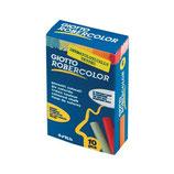confezione 10 gesseti colorati Giotto robecolor